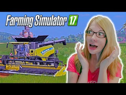 It's So Big! - Farming Simulator 2017 Gameplay | FS 2017 Combines