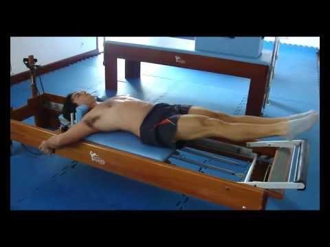 Pilates for Men - Prof. Gustavo Godoy - Advanced Pilates Reformer Vipilates