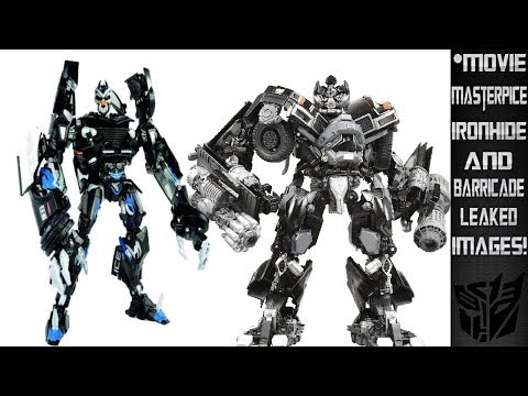 Movie Masterpiece Ironhide And Barricade Leaked Images!