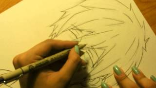 Drawing Makoto Tachibana from Free! Eternal Summer