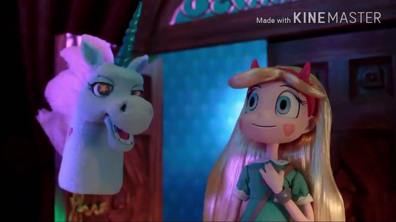 Star Butterfly And Pony Head Are Going To Haunted Mansion Stop Motion Crossover Hd 720p