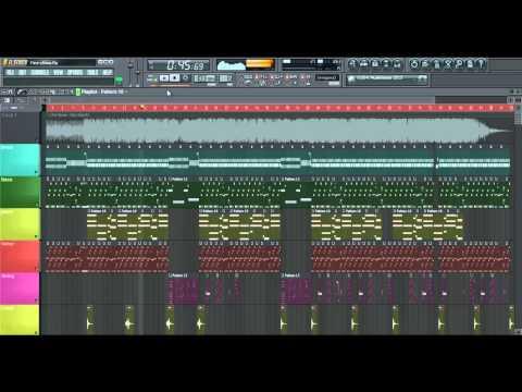 Chris brown - Fine china - instrumental cover FL STUDIO 10 - FLP FULL HD Download mp3