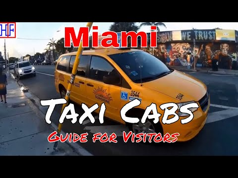 Miami | Taxi Cabs Guide - Getting Around | Travel Guide | Ep