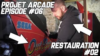 PROJET ARCADE #06 - RESTAURATION #02 - OutRun Rad Mobile