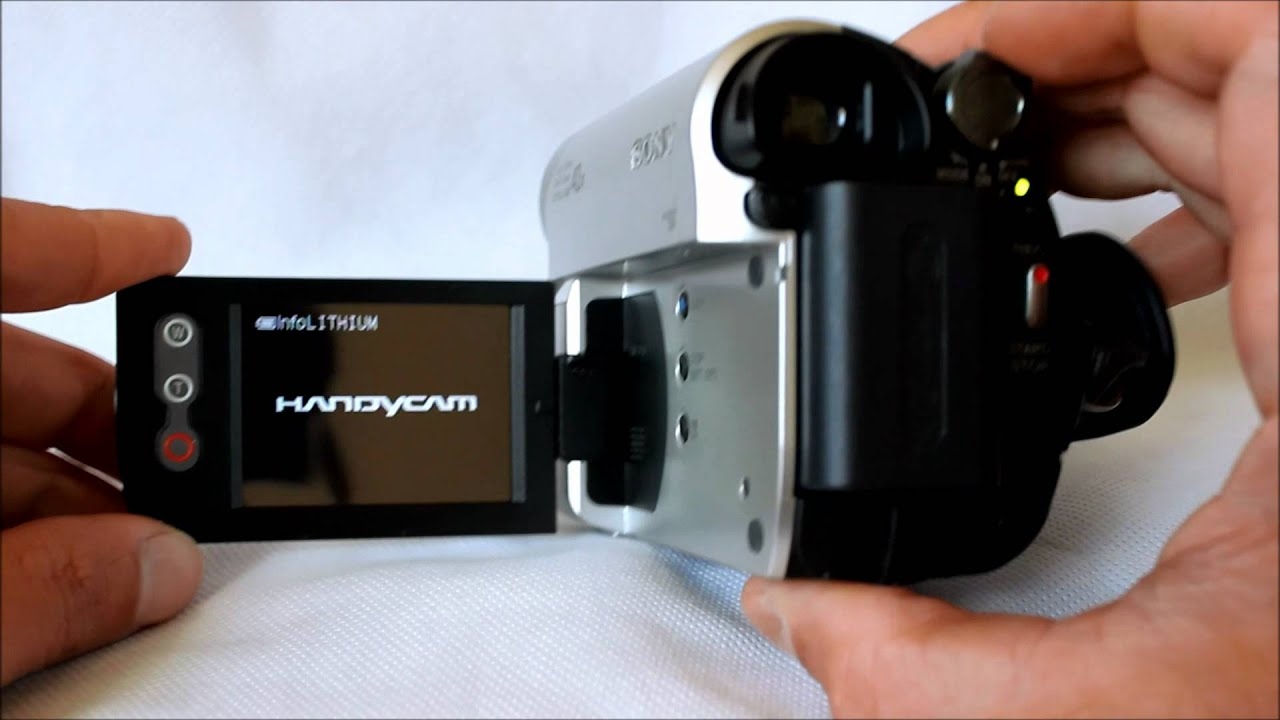 SONY HANDYCAM DCR-HC52 DRIVERS DOWNLOAD