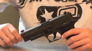 KJW Sig Sauer P226 GBB Pistol Airsoft Review
