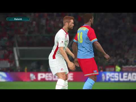 PS4 PES 2017 Gameplay Tunisie vs RD Congo HD