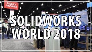 3D Printing & CNC Milling at Solidworks World 2018 w/ Matterhackers, Raise3D, Desktop Metal, Tormach