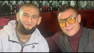 Khamzat Chimaev Spoke to Darren Till Yesterday..