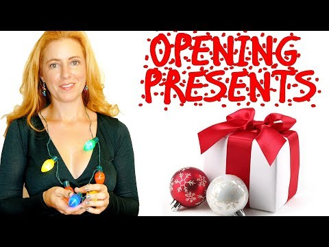 ASMR Opening Christmas Gifts! No Talking for Tingles & Relaxation- Tapping, Unboxing