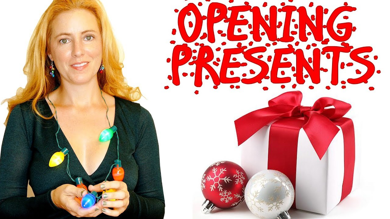 ASMR Opening Christmas Gifts! No Talking for Tingles & Relaxation ...