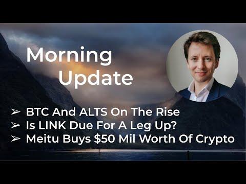 Daily Update – Macro + Crypto Markets – Mar 18th, 2021