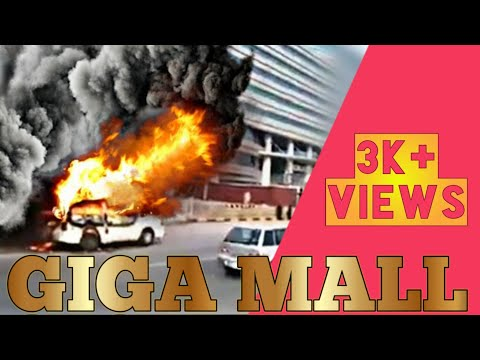 Giga Mall Fire Van Rawalpindi Latest Viral Video, World Trade Centre Islamabad, Pakistan