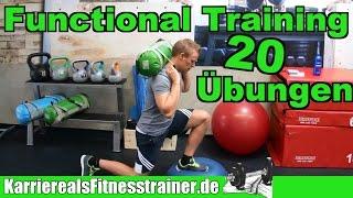 Functional Training: Grundlagen, Vor- und Nachteile + 20 effektive Übungen