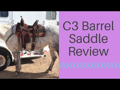 Jeff Smith C3 Barrel Saddle Review - YouTube
