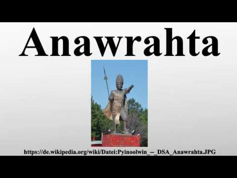 Anawrahta