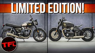 2022 Triumph Bonneville DEBUT: The Classic British Bike Gets Lighter And More Powerful!