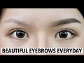 Eyebrow Tutorial | Gambar Alis Super Gampang (ENG SUB) | Christine Sindoko