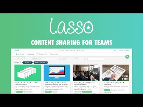 Lasso - Reinvented Bookmarking service for teams