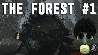 The Forest #1 グロ注意 リアル版Rust The Forestに挑戦 「初めてのサバイバルに挑戦」 ゲーム実況 The Forest gameplay