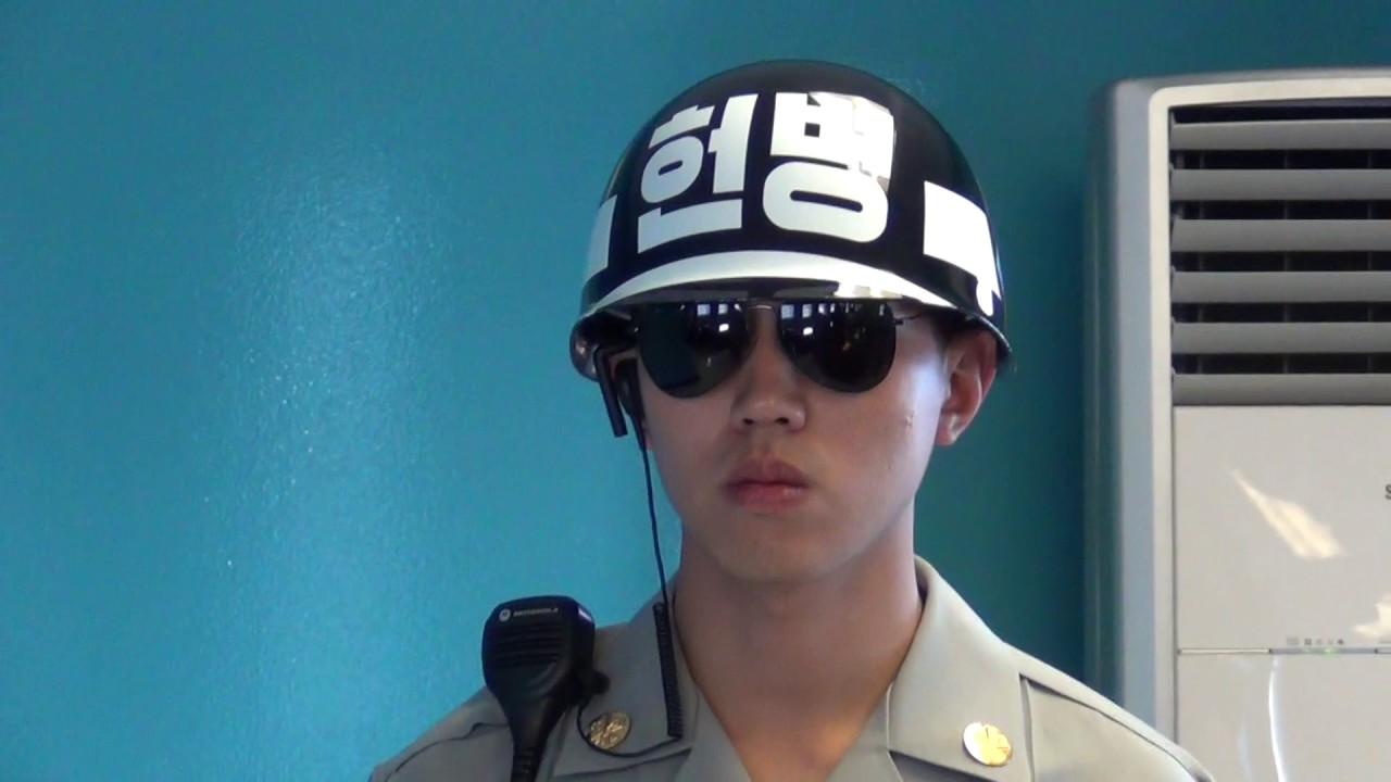 Angry Korean Soldier In The Jsa Dmz Free Stock Footage For Non Commercial Projects