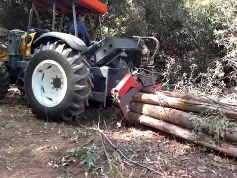 Trator Skidder Florestal