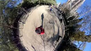Barcelona Cathedral 360 degree video insta360