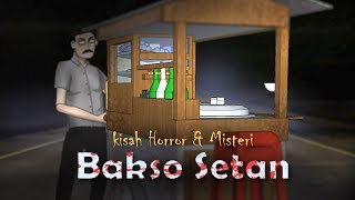 Bakso Setan 1 | Kartun Animasi Hantu & Cerita Misteri Indonesia - Rizky Riplay