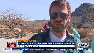 Admission price increasing at Red Rock Canyon