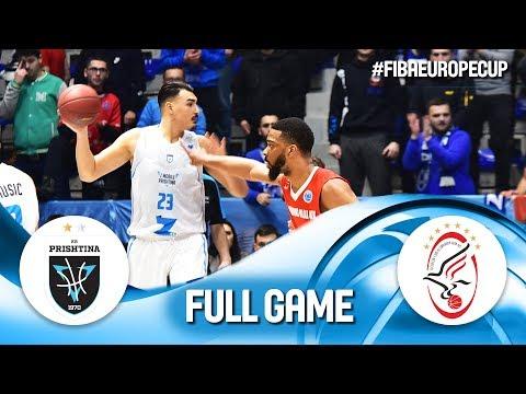 Z Mobile Prishtina v Szolnoki Olaj - Full Game - FIBA Europe Cup 2019
