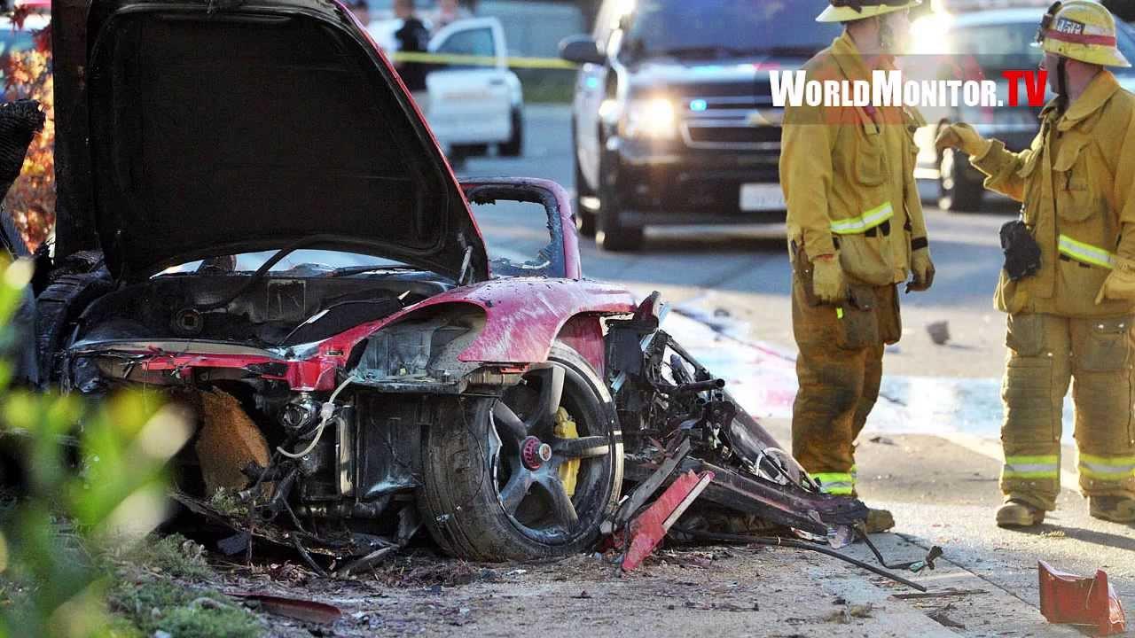 PAUL WALKER 'Fast and the Furious' Dead at 40 in Fatal car crash Valencia,  California