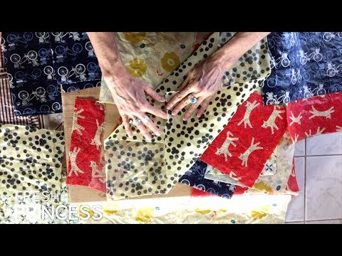How to Make Reusable Beeswax Wraps and GIVEAWAY!!    |  Fresh P