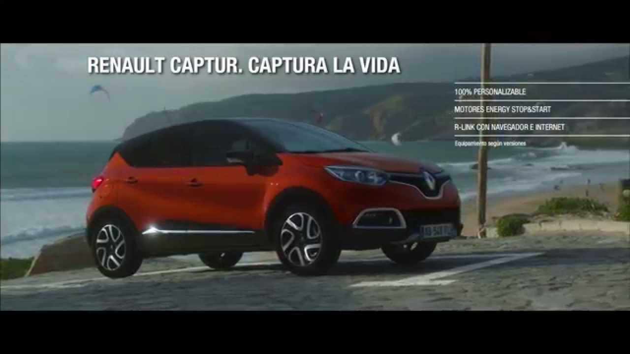 anuncio renault captur 2015 youtube. Black Bedroom Furniture Sets. Home Design Ideas