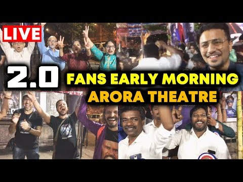 2.0 Movie | GRAND CELEBRATION At Aurora Theatre | FANS Excitement | Akshay Kumar, Rajnikanth