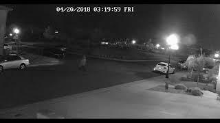 Thief breaks car window 2018 04 20 part 1