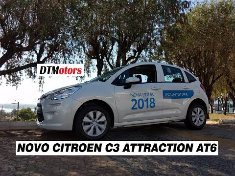 Novo Citroen C3 Attraction AT6 2018 - DTMotors #99