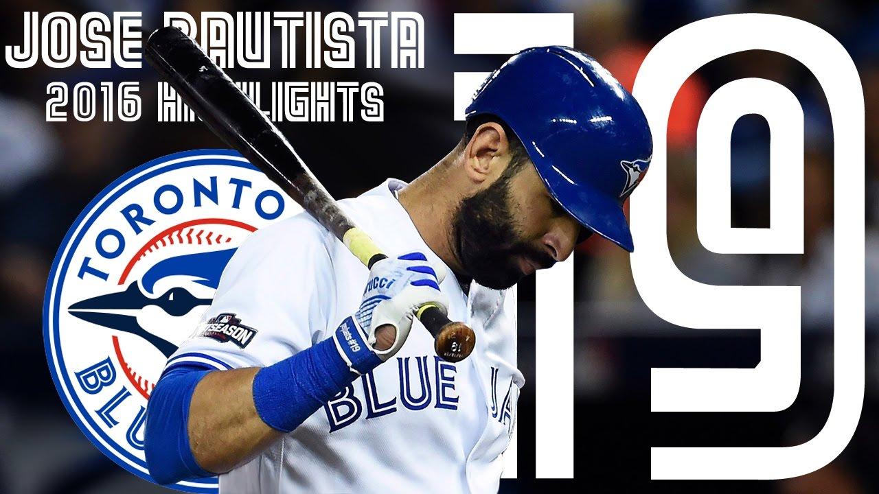 Jose Bautista | Toronto Blue Jays 2016 Highlights Mix ᴴᴰ
