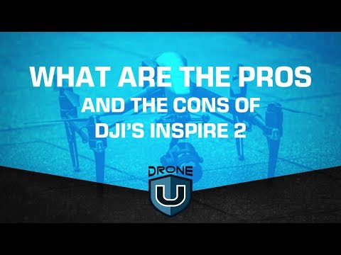 What are the pros and cons of DJI's Inspire 2?