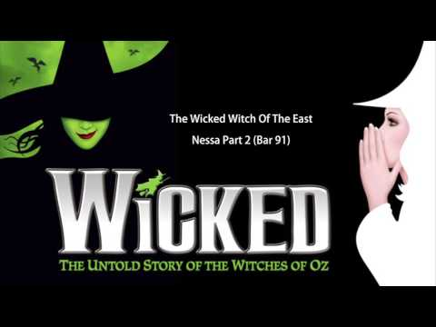The Wicked Witch Of The East   Piano and Vocal Parts