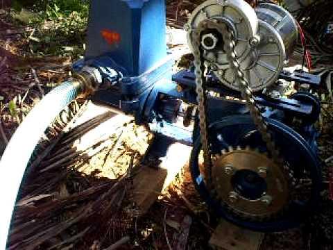 Piston water pump dc motor youtube for Dc motor water pump
