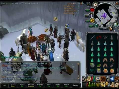 RuneShark Subscriber Bandos God Wars Event - 24th March 2012 Saturday GMT 8 - 9pm (FULL)
