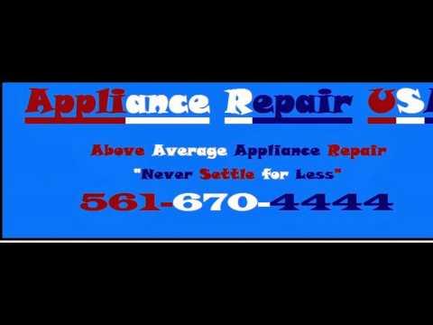 Appliance Repair, Ocean Ridge, Florida, 561-670-4444