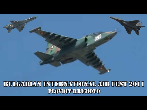 Bulgarian International Aviation Festival BIAF 2011