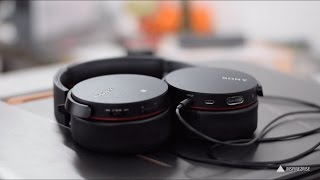 Sony MDR-XB950B1 on ear wireless headphones review and unboxing