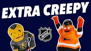 Critiquing EVERY ridiculous NHL MASCOT
