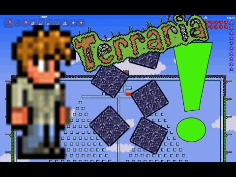 видео: wtf ?! Ферма обсидиана в Террарии за 10 секунд
