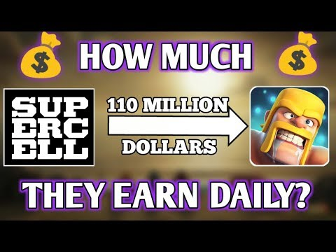 HOW MUCH SUPERCELL EARN FROM CLASH OF CLANS ? SUCCESS HISTORY OF SUPERCELL 😘