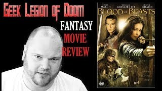 BLOOD OF BEASTS ( 2005 ) aka BEAUTY AND THE BEAST Fantasy Movie Review