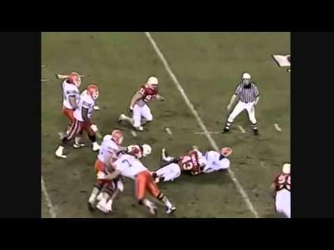 1996 Fiesta Bowl   U of Nebraska vs U of Florida football highli