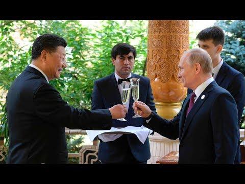 66. GEBURTSTAG: Putin schenkt Xi Jinping eine Kiste voller Speiseeis